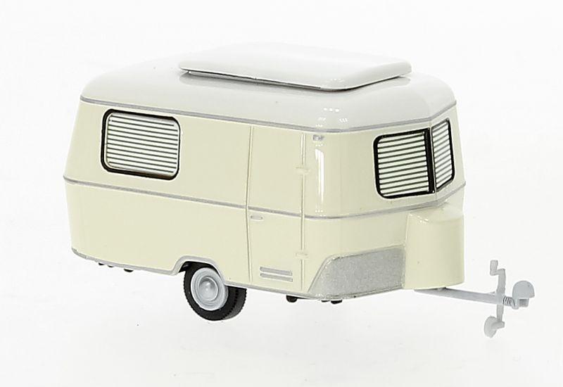 Eriba Pan Caravan, hellbeige, 1960, 1:87 / H0