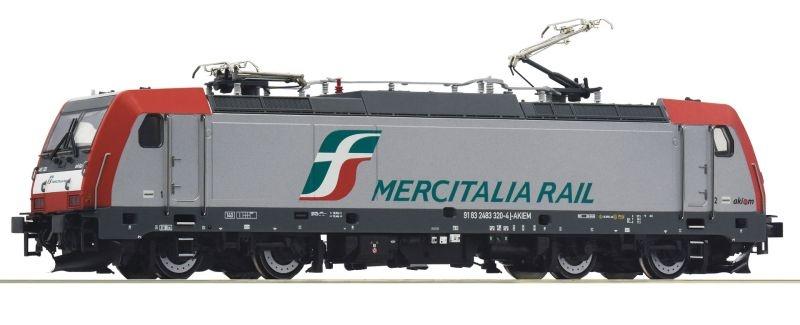 Elektrolokomotive E.483 320-4 der Mercitalia, DC, Spur H0