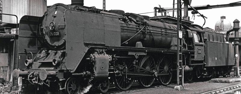 Dampflok BR 01 DR, III, DC Digital EXTRA, Spur H0