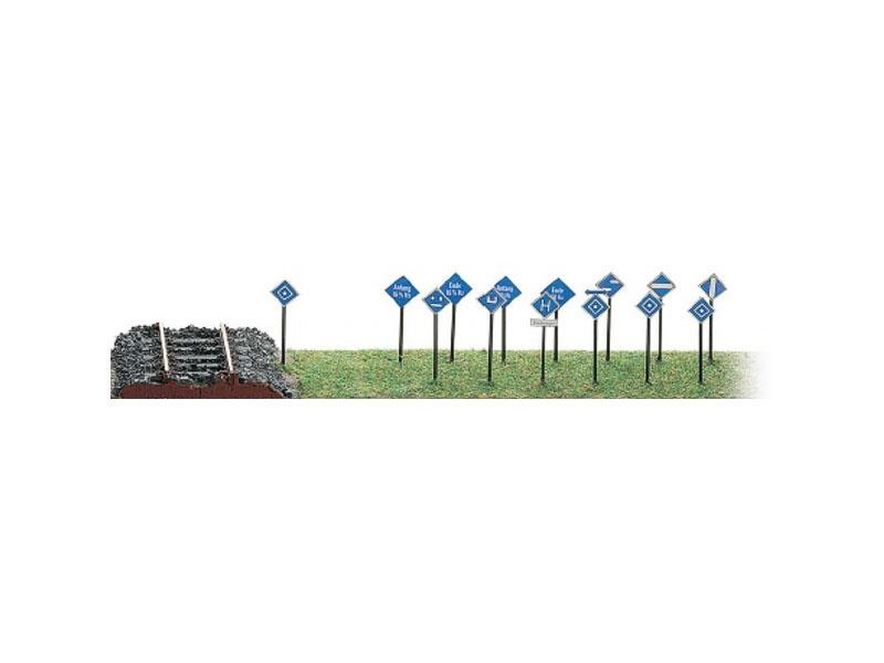 Fahrleitungssignaltafeln DB, Spur H0