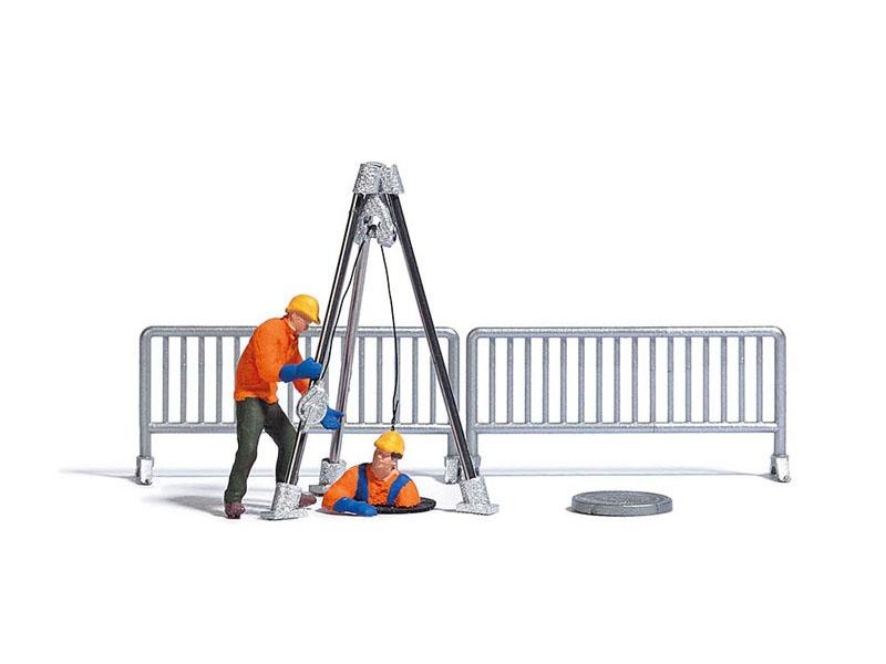 Action-Set: Kanalarbeiter, Spur H0