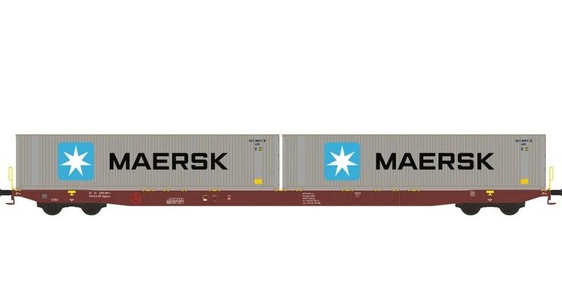 Containerwagen Sggnss80 Metrans, Ep.VI, Spur N