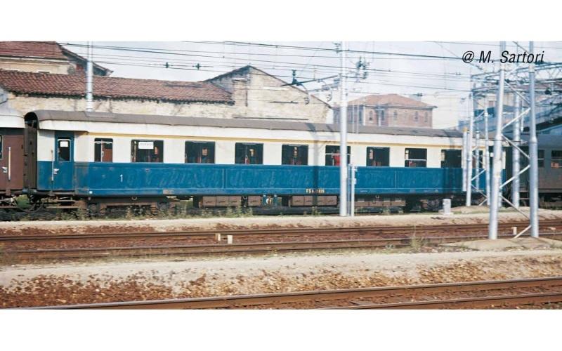 4tlg-Set Treno Azzurro, FS, 2xAz+2xBzTyp46 Ep.III, DC, H0