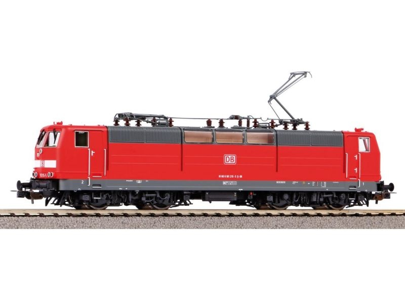 E-Lok BR 181.2 der DB AG verkehrsrot, Ep. VI, DC, Spur H0