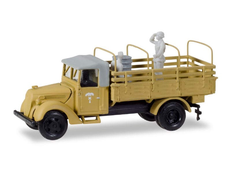Ford 3000 Ersatz, Armee-LKW mit Pritsche und Spriegel, 1:87