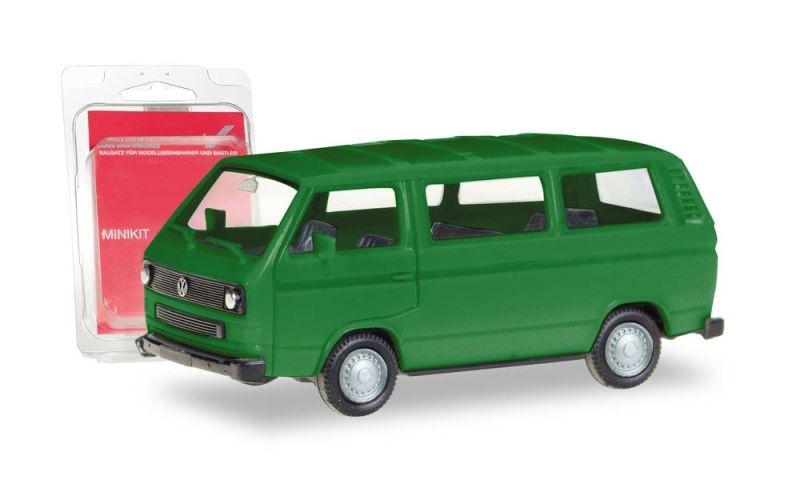 Minikit VW T3 Bus, minzgrün, Spur H0, 1:87