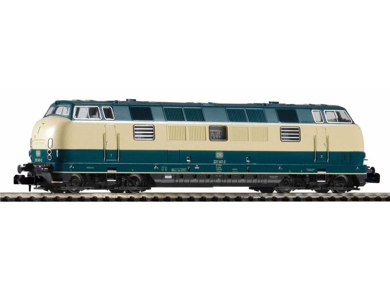 Sound-Diesellokomotive BR 221 der DB, Ep. IV, Spur N