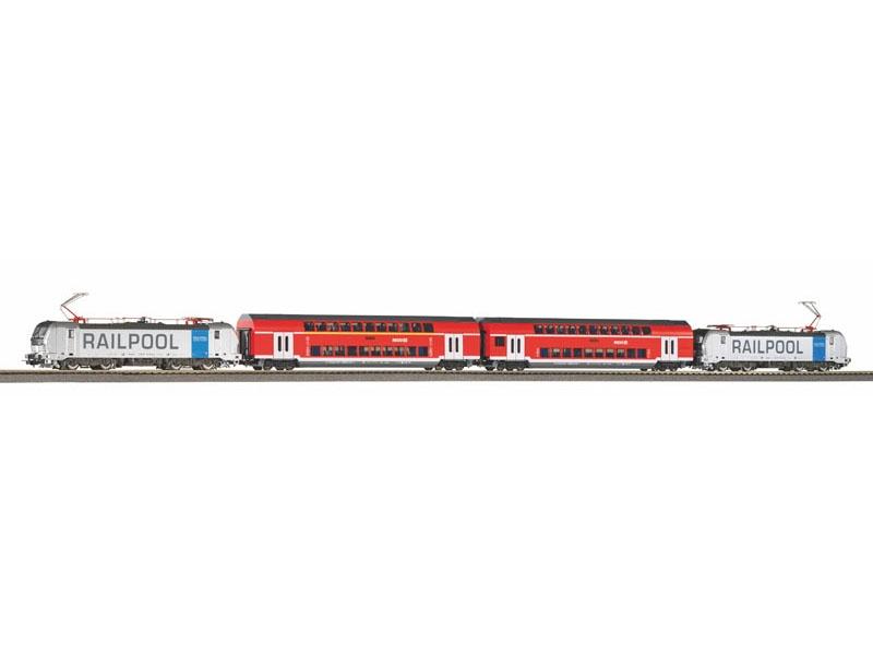 Zugset Franken-Thüringen-Express, Ep. VI, DC, Spur H0