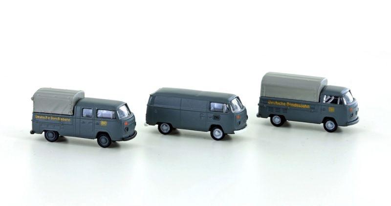 3tlg. Set VW Bus T2 DB Kasten/Pritsche Plane/DoKa, Spur N