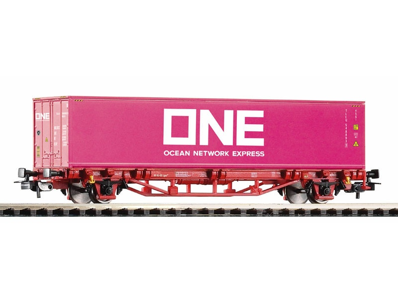 Containerwagen der NS, Ep. VI, 1x40 Container, DC, Spur H0