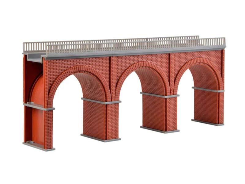 Backstein-Viadukt, gerade, Bausatz, Spur N