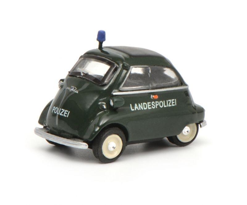 BMW Isetta Landespolizei, 1:87 / Spur H0