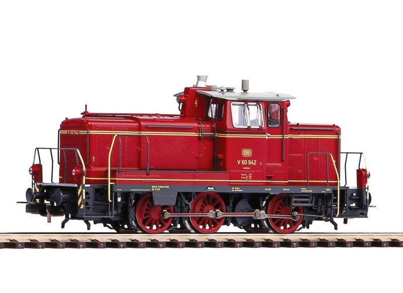 Sound-Diesellok BR V60 der DB,AC-Version, Epoche III,Spur H0