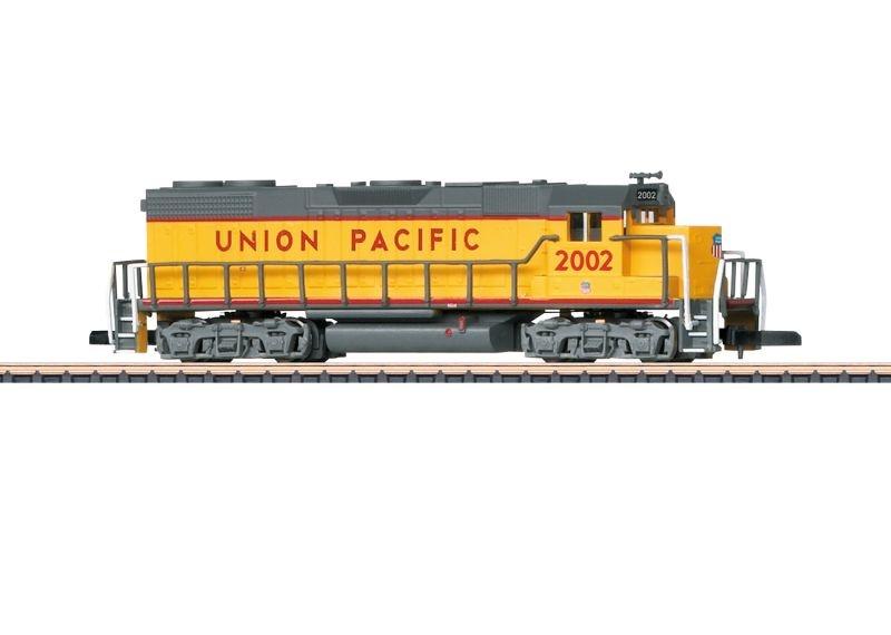 Dieselelektrische Lokomotive GP 38-2 der UP, Spur Z