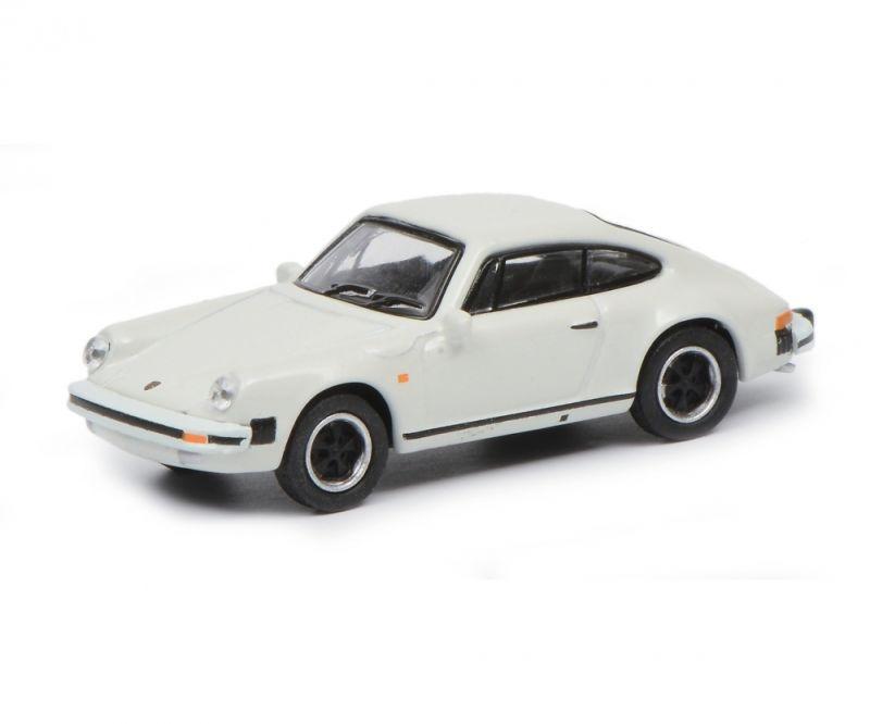 Porsche 911 Carrera 3.2 Coupé, weiß, 1:87 / Spur H0