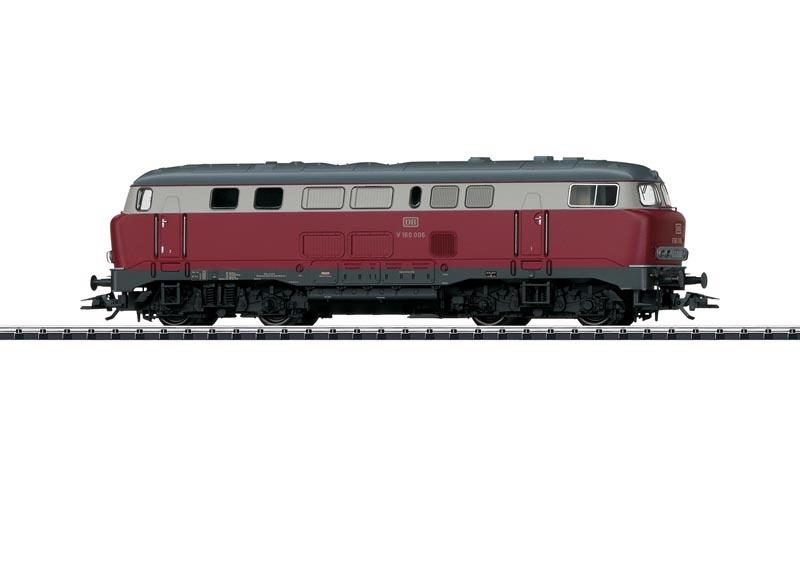 Diesellok BR V 160 Lollo der DB, Sound, mfx, DC, Spur H0