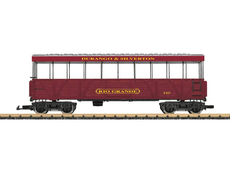D&S RR Aussichtswagen Rio Grande Spur G