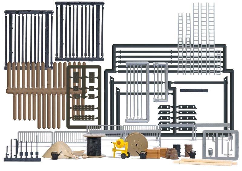 Baustellen-Set, Bausatz, Spur H0