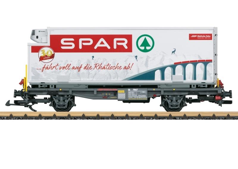 RhB Containerwagen Spar, Spur G