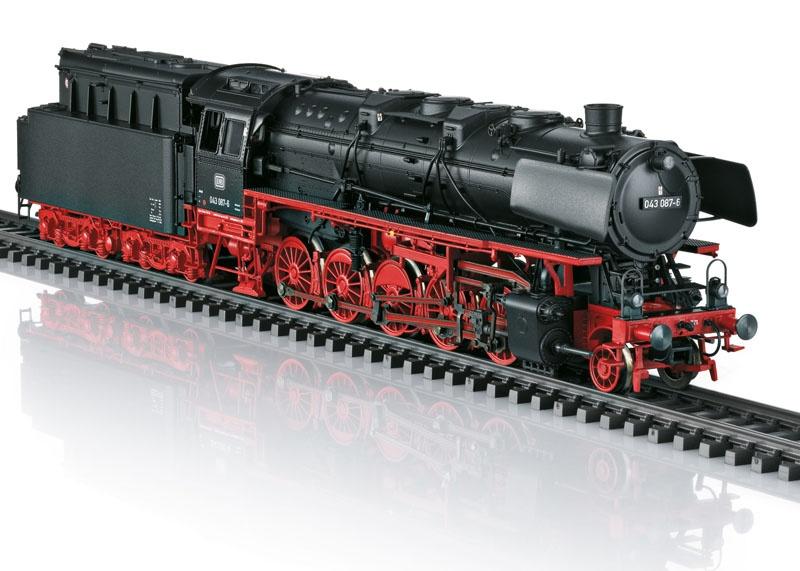 Güterzug-Dampflok BR 043 Öl-Tender, DB, Sound, mfx, DC, H0