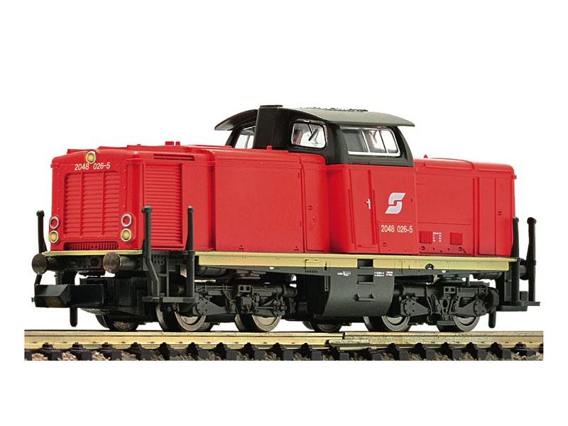 Diesellokomotive Rh 2048 der ÖBB, Spur N
