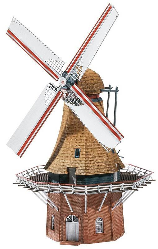 Windmühle Bausatz H0