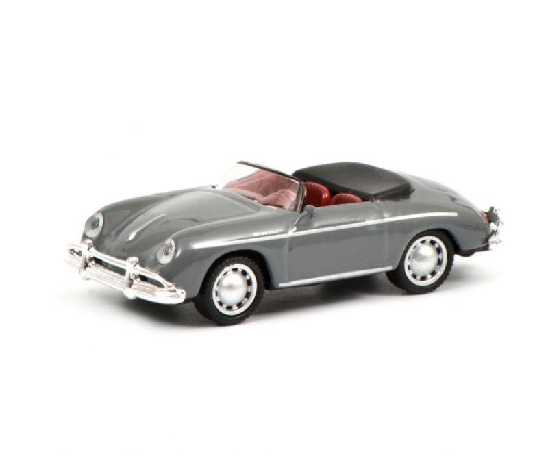 Porsche 356 A Speedster, grau, 1:87 / Spur H0