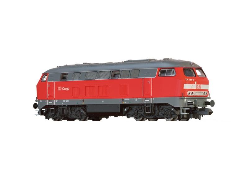 Diesellokomotive BR 216 der DB Cargo, V, DC, Spur N