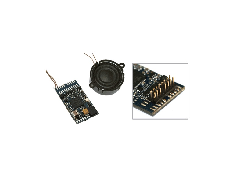 LokSound V4.0 Sounddecoder Plux22 Spur 0 / H0