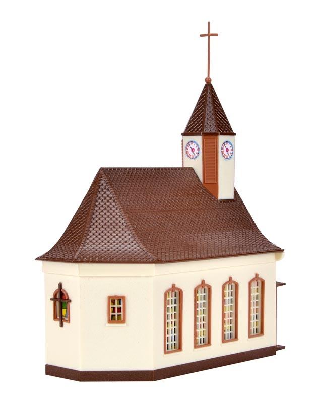 Kirche, Bausatz, Spur N