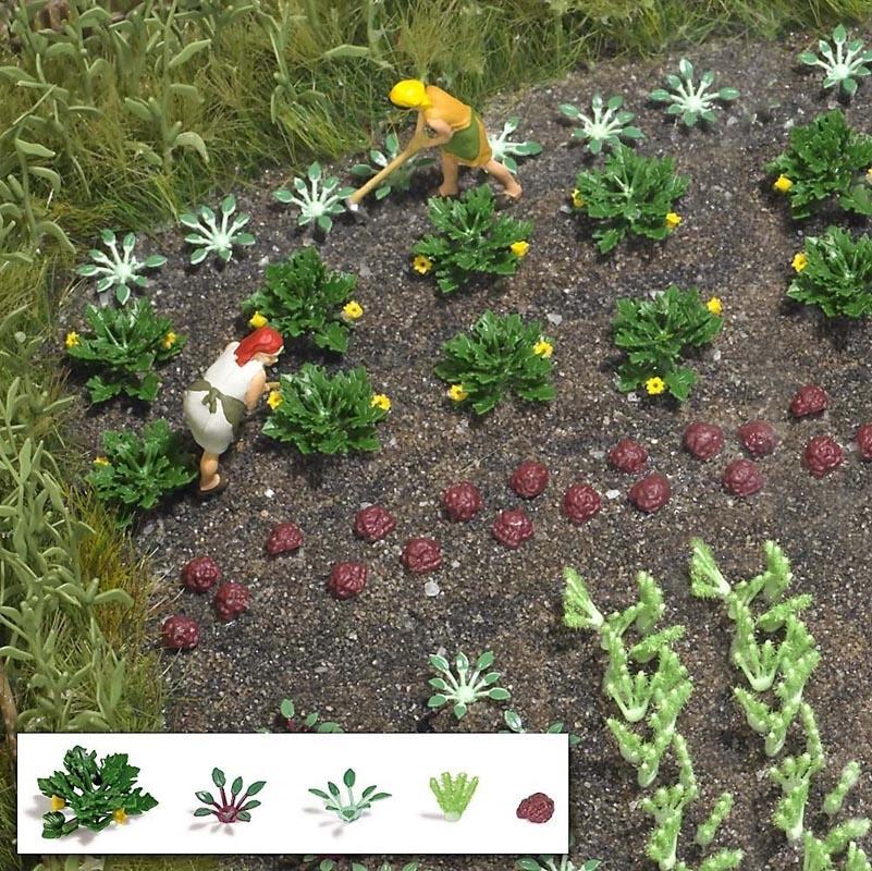 Gemüse und Salat, Spur H0