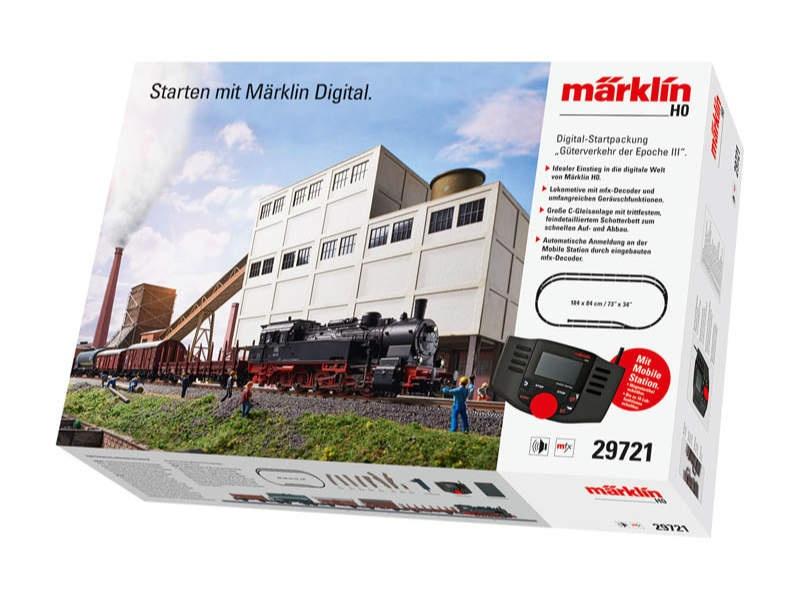 Digital-Startpackung Güterverkehr der Epoche III DB mfx H0