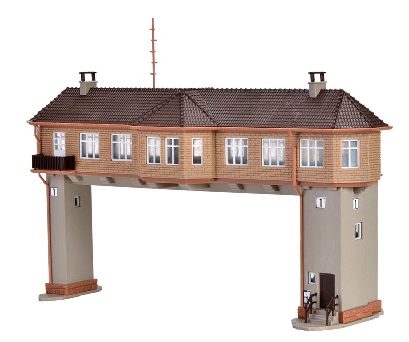 Reiterstellwerk, Bausatz, Spur N