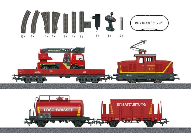 Start up - Startpackung Feuerwehr Spur H0