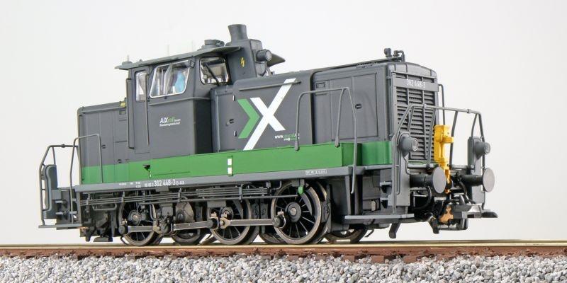 Diesellok BR V60 362 448, AIX, Sound+Rauch, DC/AC, Spur H0