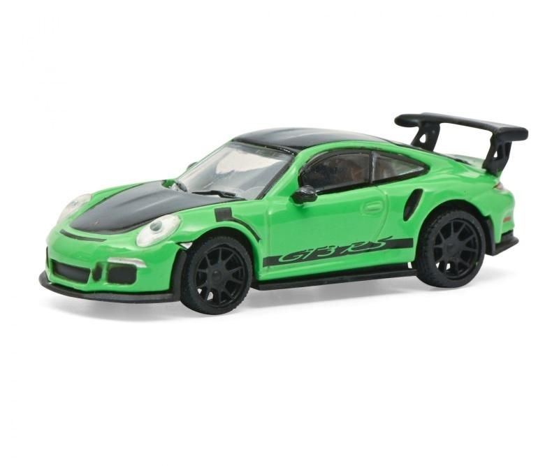 Porsche 911 GT3 RS grün 1:87 / Spur H0