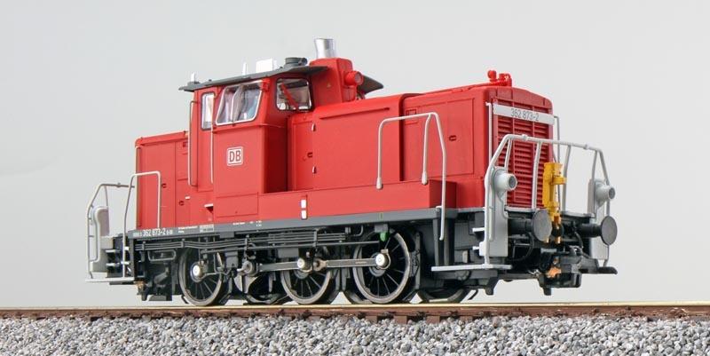 Diesellok BR 362 873, verkehrsrot, Ep. VI, E-Kupplung, H0