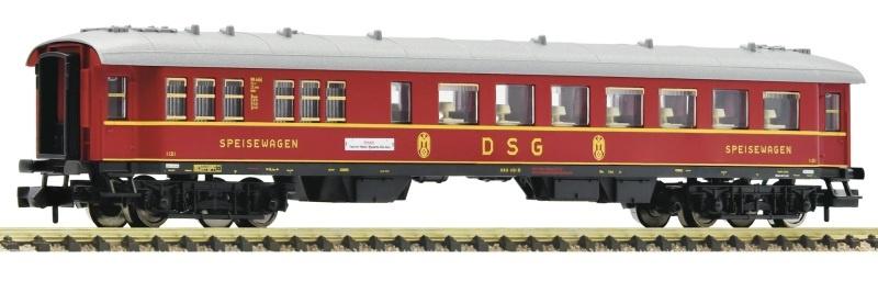 Fernschnellzug-Speisewagen der DSG/DB, Spur N