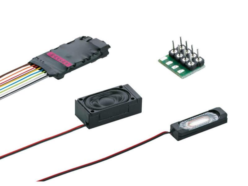 SoundDecoder mSD3 8-polig mit Kabelbaum E-Lok Sound H0