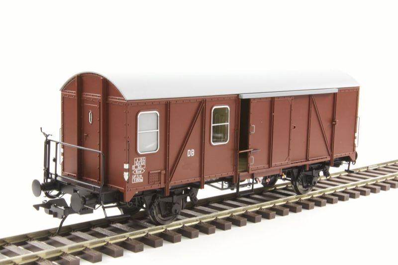 Güterzuggepäckwagen Pwghs 54 der DB, Epoche III, Spur 0