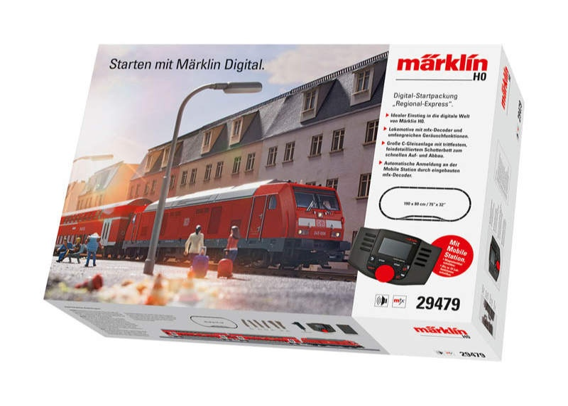 Digital-Startpackung Regional-Express DB mfx C-Gleis H0