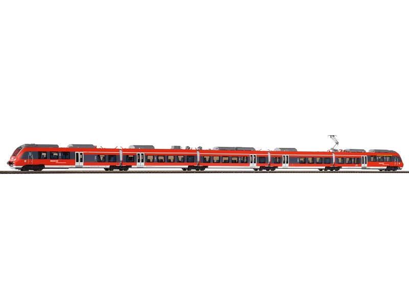 E-Triebwagen BR 442 der DB AG, 5-tlg., Epoche VI, Spur H0