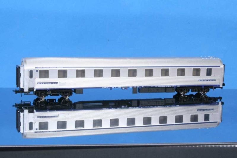 Schlafwagen Typ P der FS, silbern, Epoche IV/V, DC, Spur H0