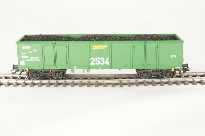 Sondermodell Offener Güterwagen Eaos der DE 2534 AC, Spur H0