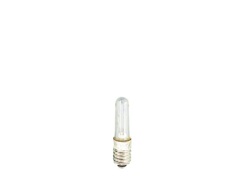 Kerzenlampe E 5,5, 19V/65mA, klar