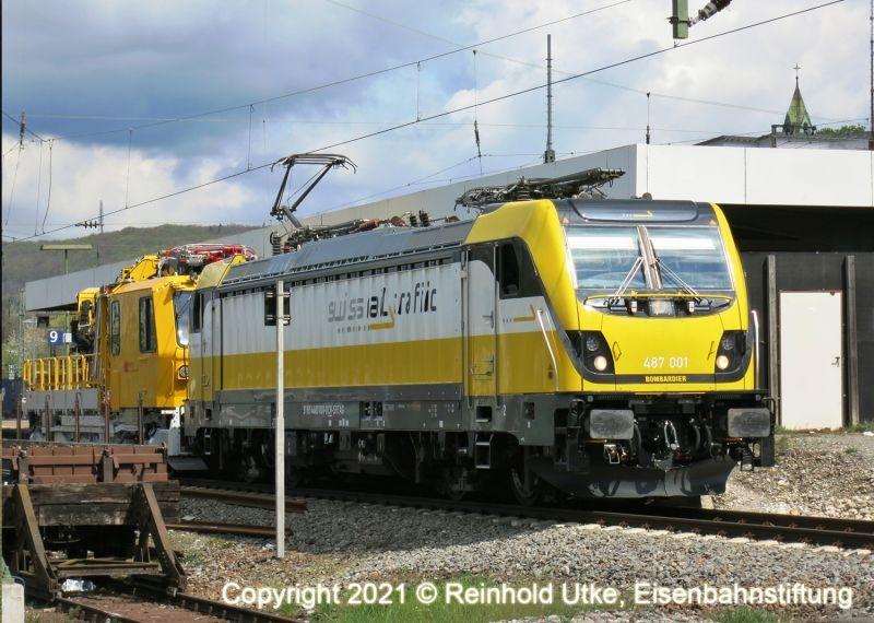 Elektrolokomotive BR 487 Swiss Rail Traffic AG, mfx,Spur 1