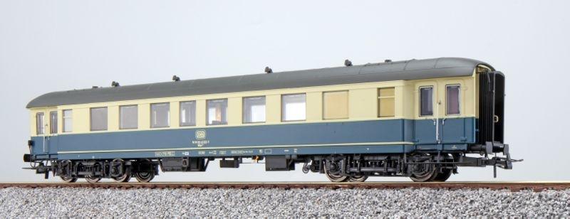 Gesellschaftswagen, WGye831 43-591 der DB, blau-beige, H0