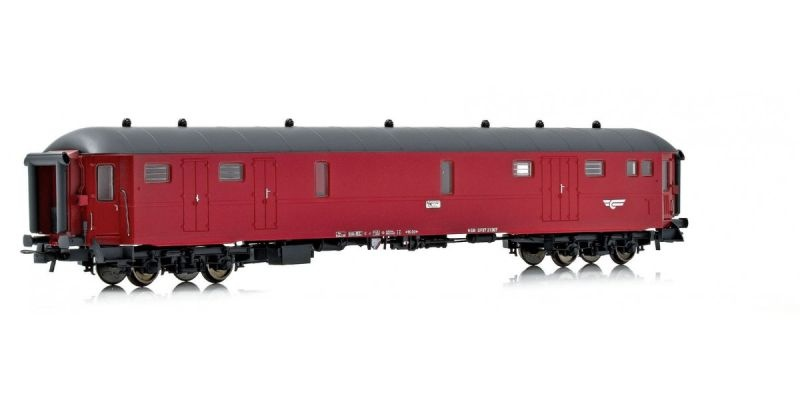 Topline Gepäck-und Schaffnerwagen DF37 21307 der NSB, H0