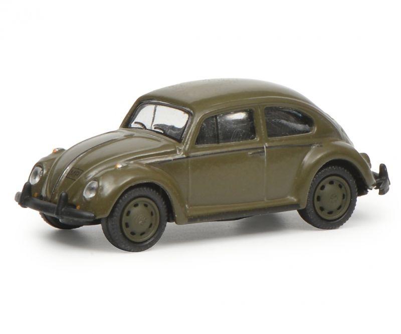 VW Käfer 1200 Bundeswehr, 1:87 / Spur H0