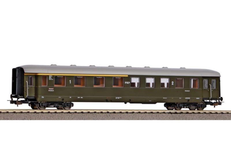 Schürzeneilzugwagen 1./2. Klasse der PKP, Ep. III, DC, H0